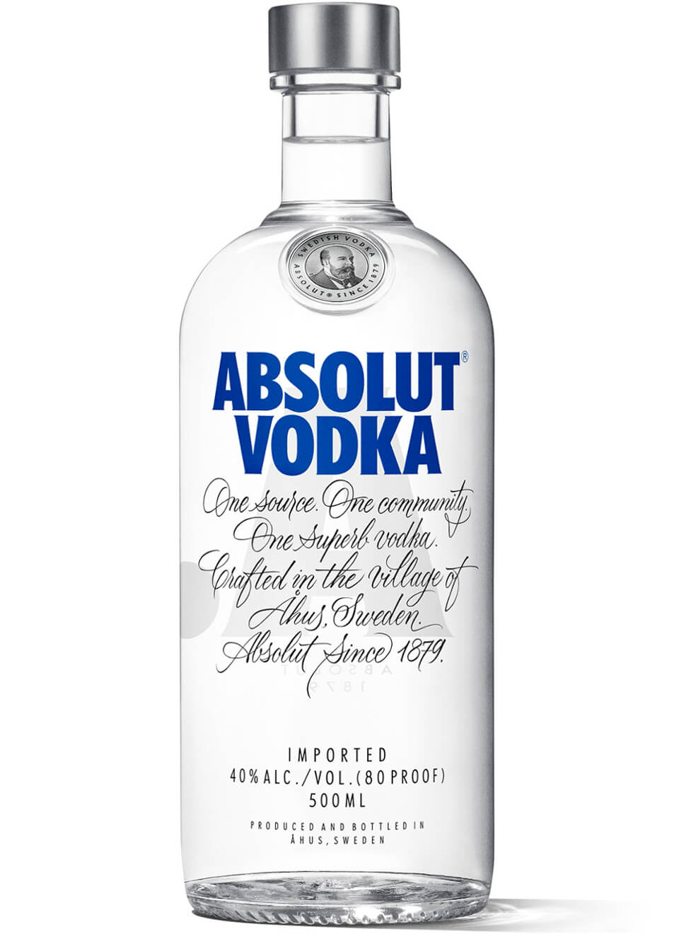 Absolut Vodka Blue 0,5 L