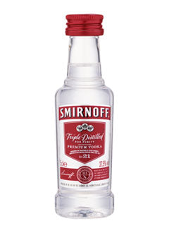 Smirnoff Red Label Vodka Mini 0,05 L