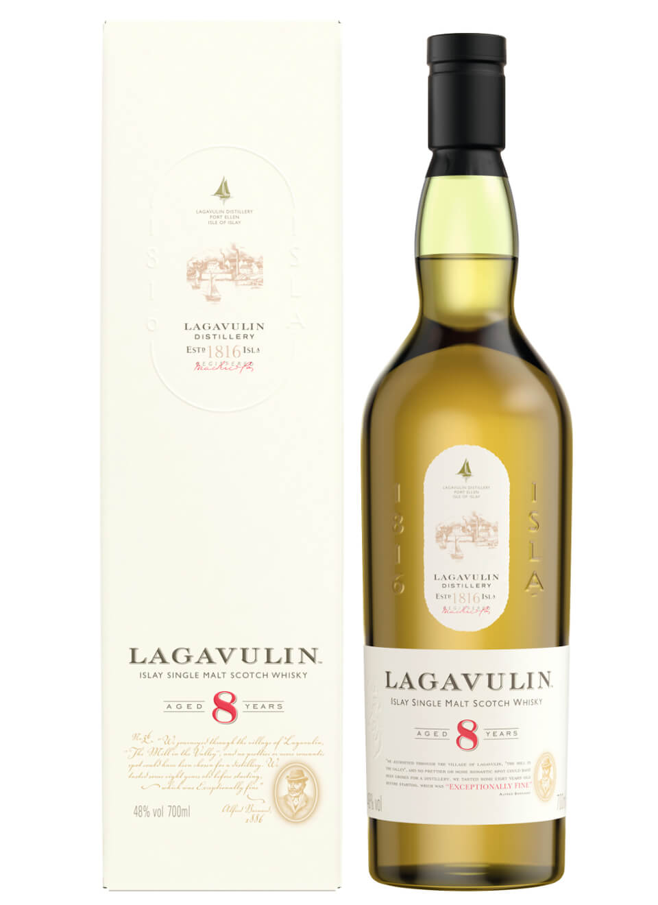 Lagavulin 8 Years Limited Edition Islay Single Malt Scotch Whisky 0,7 L