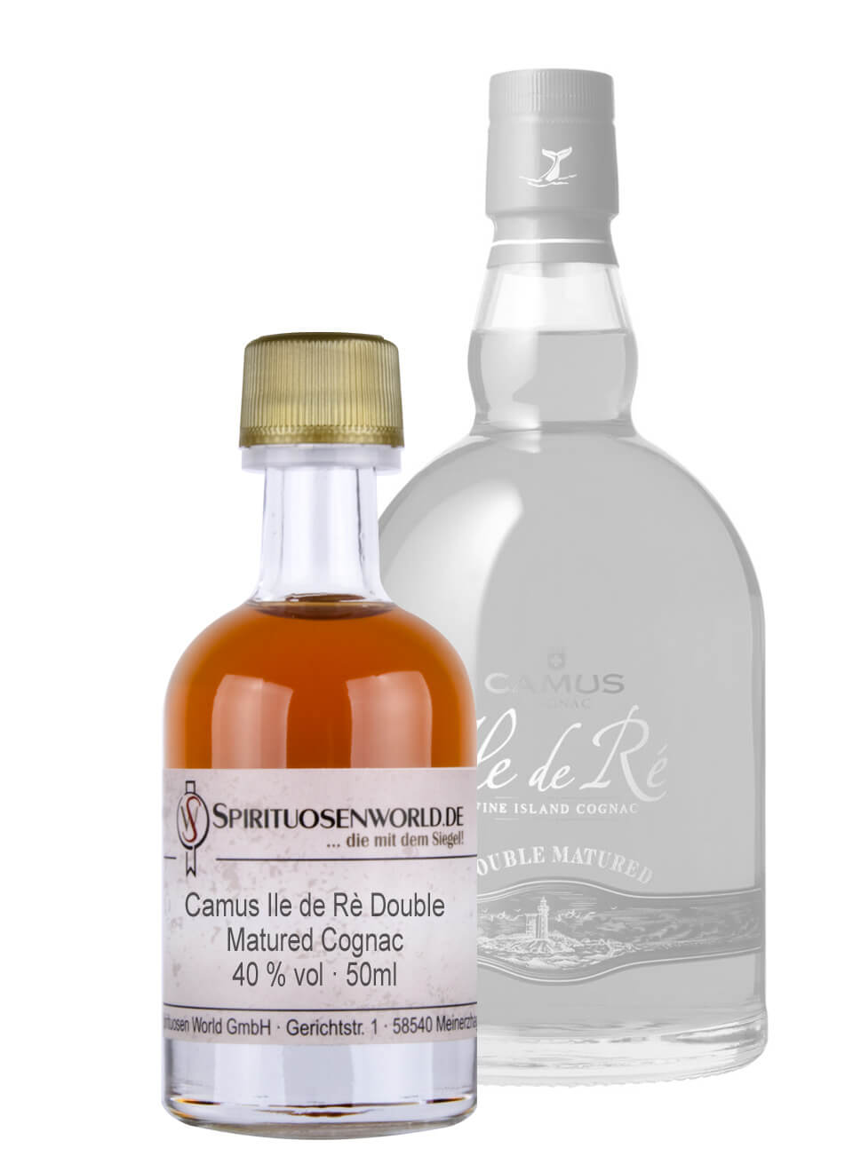 Camus Ile de Re Double Matured Cognac Tastingminiatur 0,05 L
