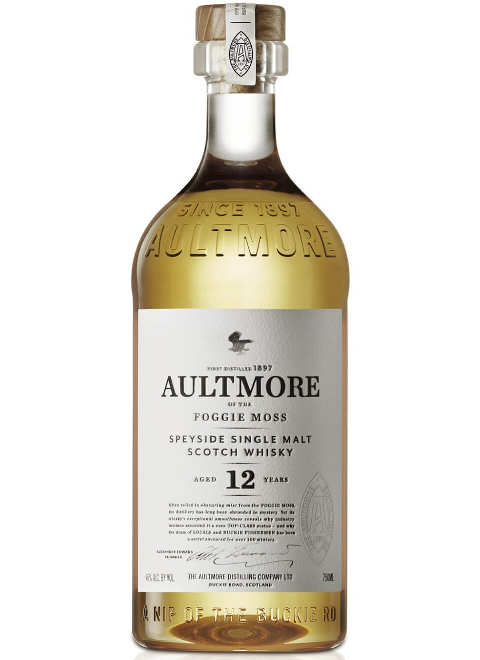 Aultmore 12 Years Whisky 0,7 L