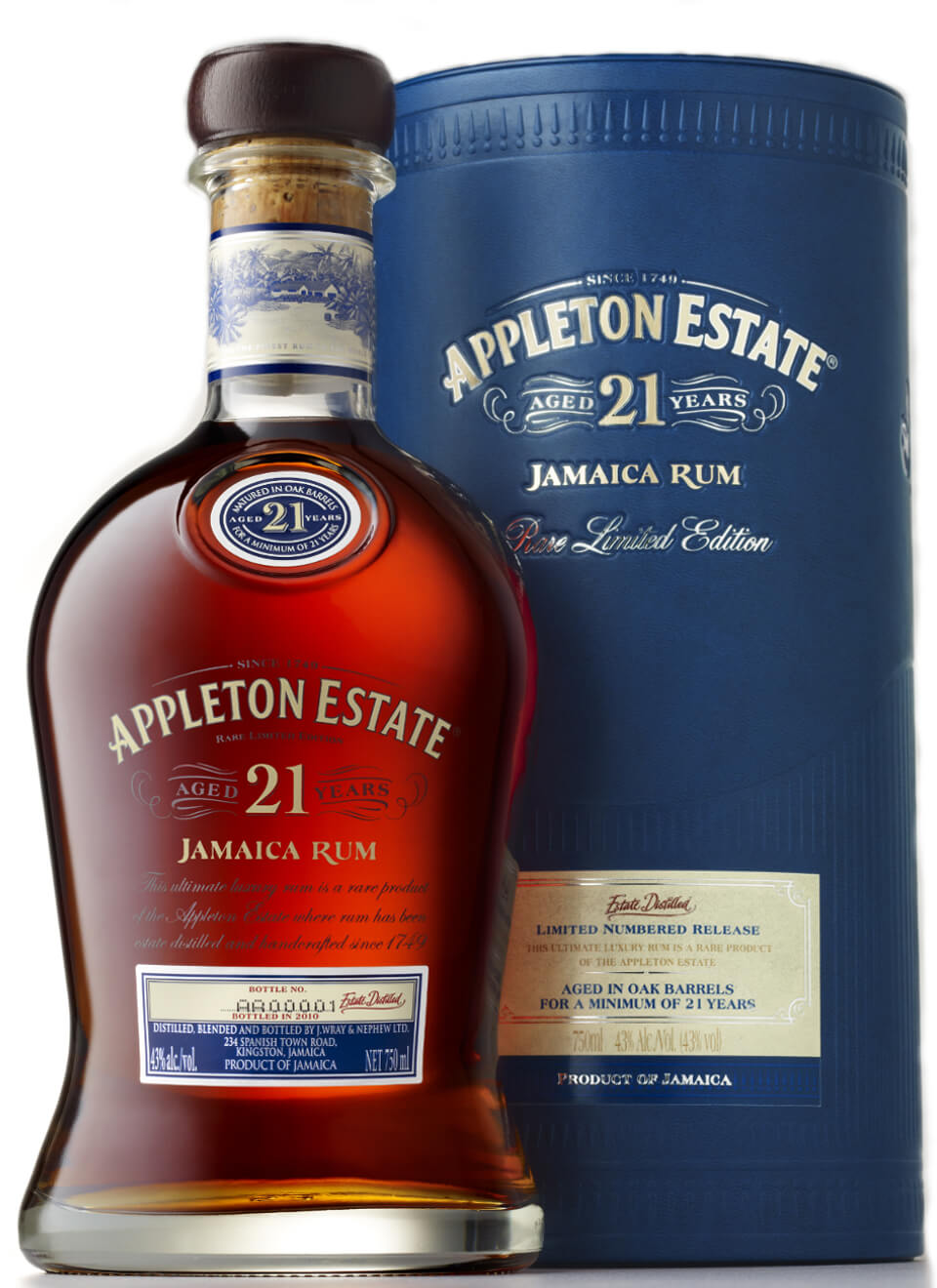 Appleton Estate 21 Years Rum 0,7 L