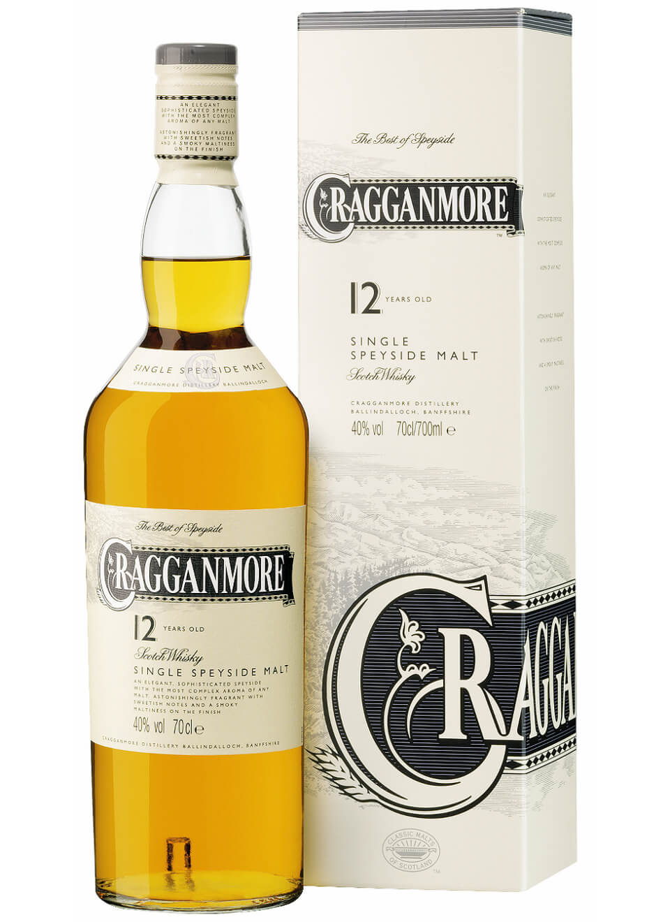 Cragganmore 12 Years Whisky 0,7 L