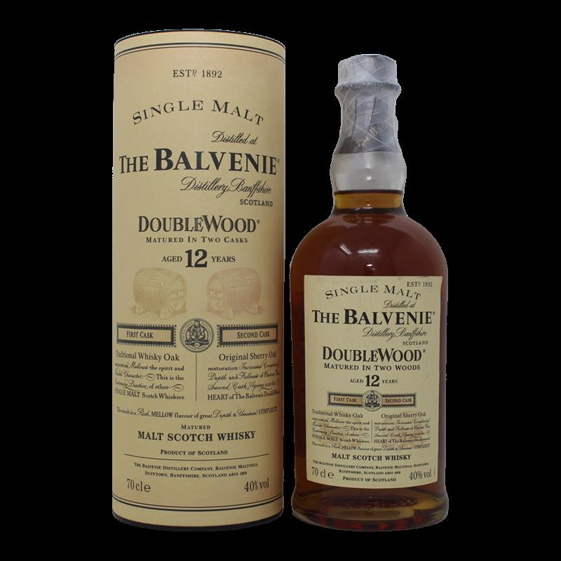 Balvenie 12 Years Double Wood Old Label 0,7L