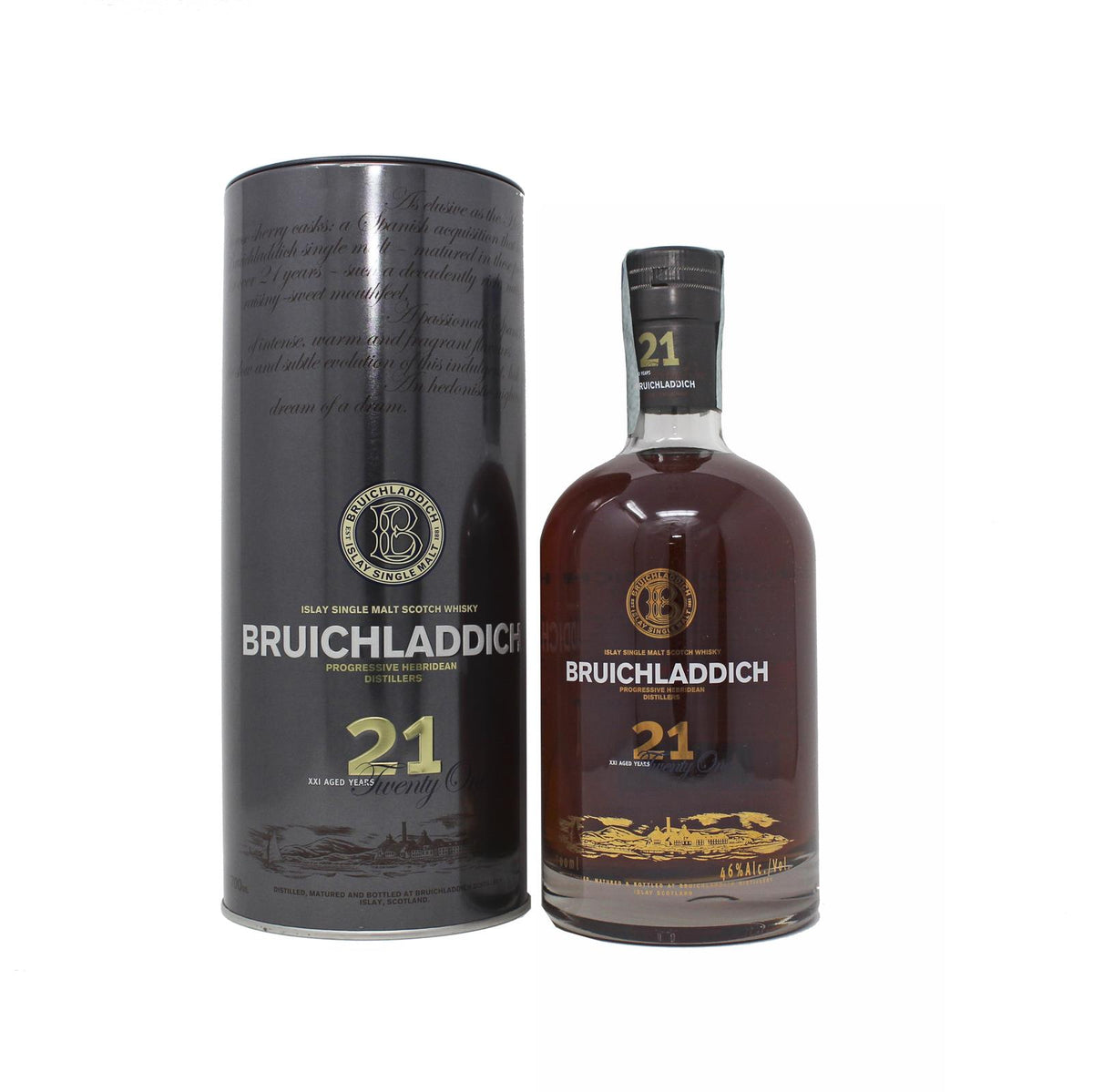 Bruichladdich 21 Years 1987-2008 Oloroso Sherry Casks 0,7L