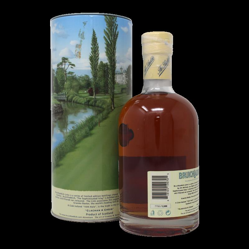 Bruichladdich K Club Ireland 16Th Hole 14 Years Single Malt Scotch Whisky 0,7L