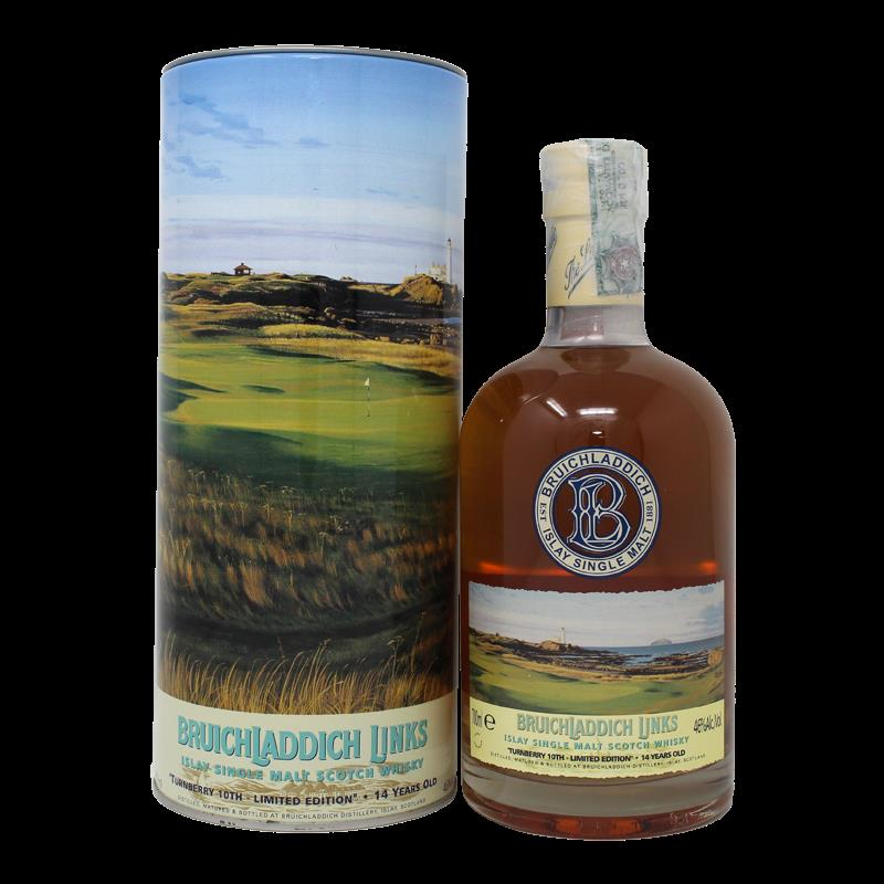 Bruichladdich Links Turnberry 10Th Bottle No.(88) 14 Years Old 0,7L