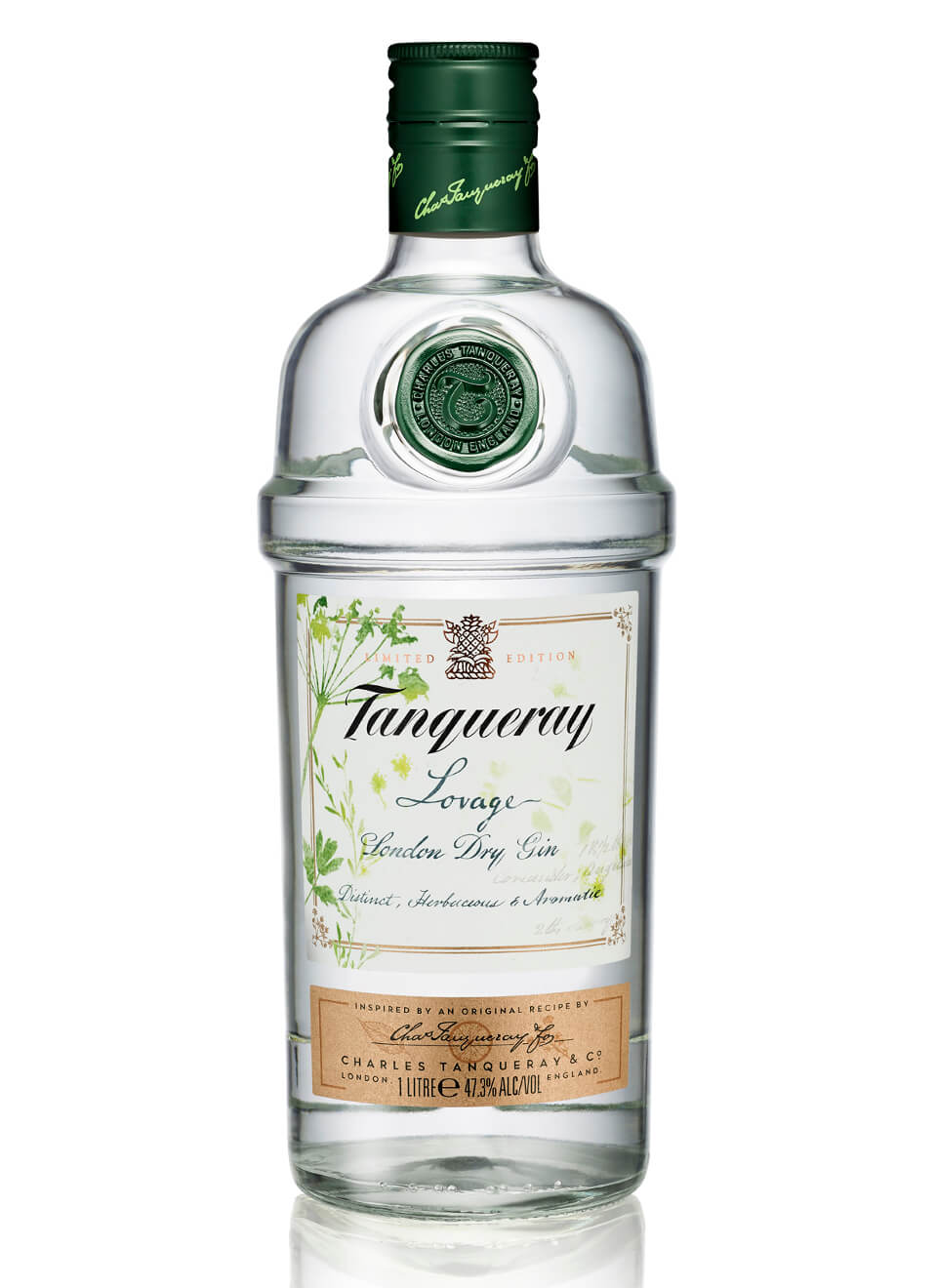 Tanqueray Lovage London Dry Gin 1 L