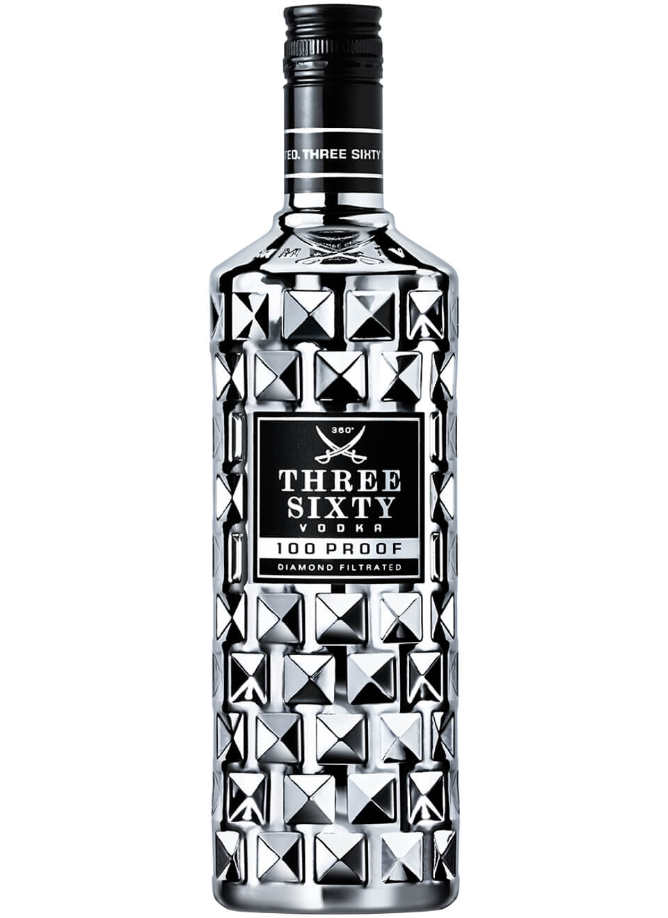 Three Sixty 100 Proof Vodka 0,7 L