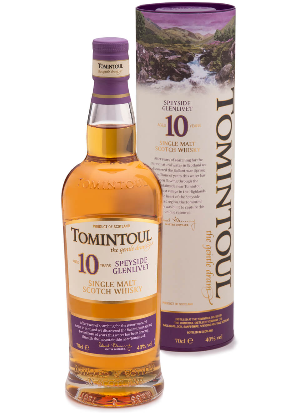 Tomintoul Single Malt Whisky 10 Jahre 0,7 L