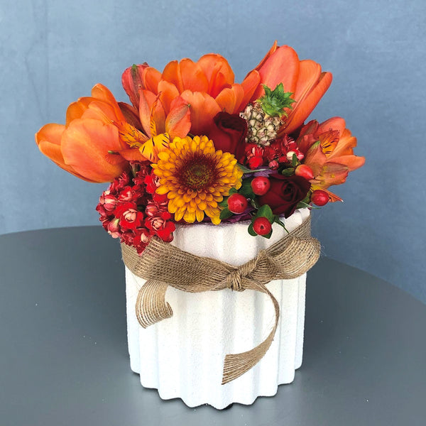 Summer Sunset Flower Arrangement