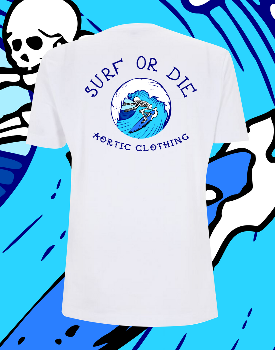 SURF OR DIE T SHIRT