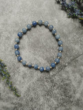 Load image into Gallery viewer, Blue Aventurine Mini Stretch Bracelet