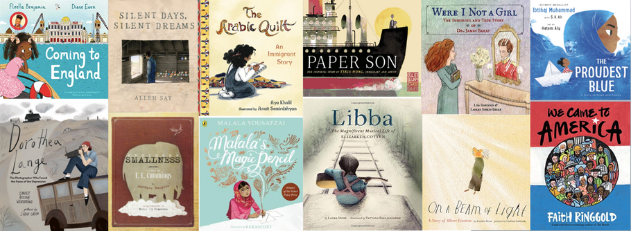 Picture This: Non-Fiction Picture Books Telling Life Stories – A Guest Blog by SF Said