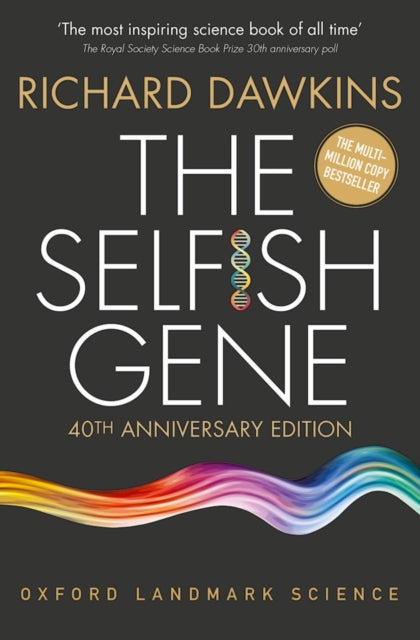 The Selfish Gene : 40th Anniversary edition-9780198788607