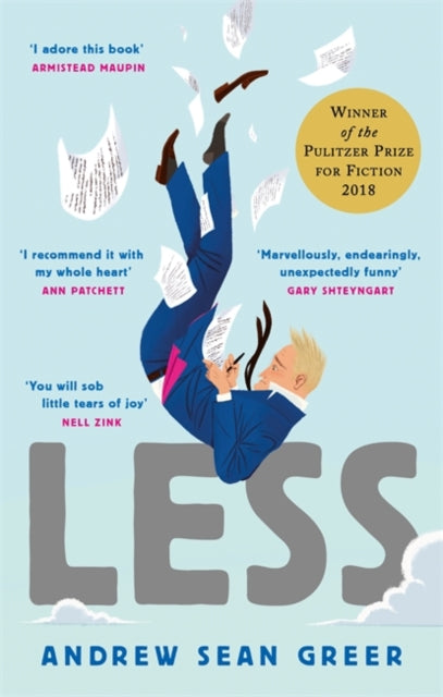 Less : Winner of the Pulitzer Prize for Fiction 2018-9780349143590