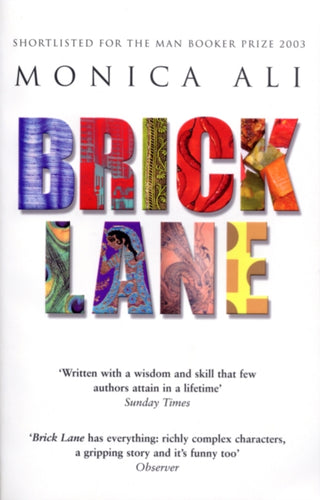 Brick Lane : Shortlisted for the Man Booker Prize-9780552771153