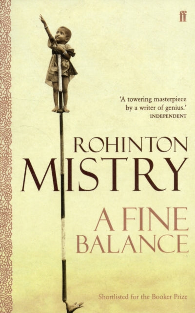 A Fine Balance : The epic modern classic-9780571230587