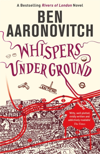 Whispers Under Ground : The Third Rivers of London novel-9780575097667
