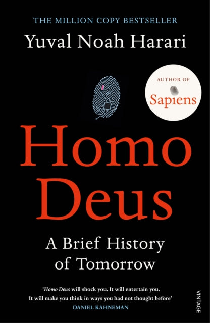 Homo Deus : A Brief History of Tomorrow-9781784703936