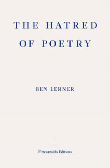 The Hatred of Poetry-9781910695159