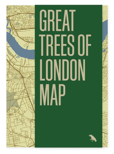 Great Trees of London Map-9781912018765