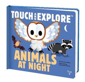 Touch and Explore: Animals at Night-9782408015985