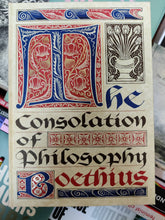 Load image into Gallery viewer, Boethius: The Consolation of Philosophy (Folio)