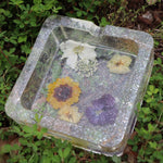 Casual Abstract Meadow Ashtray
