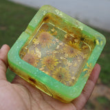 Golden Dandy Meadow Ashtray (Glow N Dark)