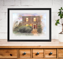 Load image into Gallery viewer, Watercolor Framed Prints
