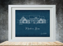 Load image into Gallery viewer, Blueprint Framed Prints