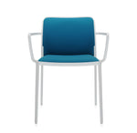 Load image into Gallery viewer, Audrey Soft Armchair White - Teal (Set of 2)