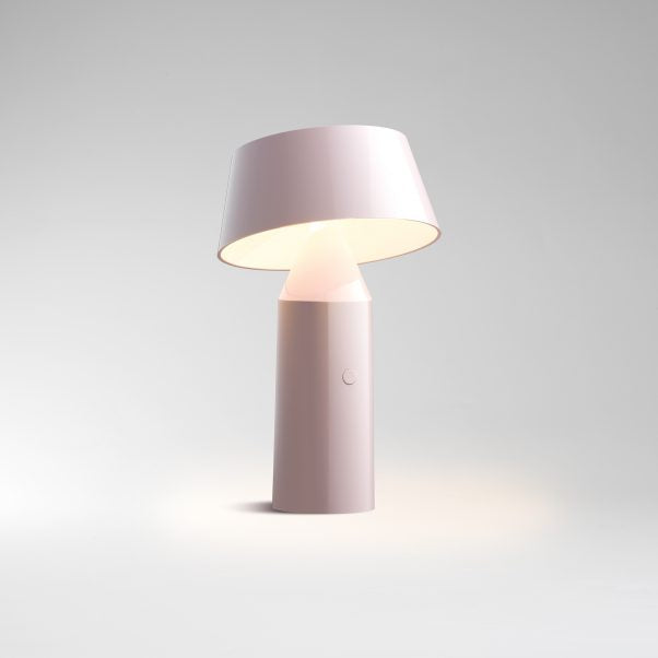 Bicoca Table Lamp Pale pink LED SMD