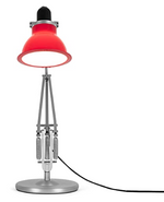 Load image into Gallery viewer, Type 1228 Silver with Table Lamp and Carmine Red Ambient Shade