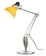 Load image into Gallery viewer, Type 1228 Silver with Table Lamp and Yellow Shade