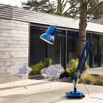 Load image into Gallery viewer, Original 1227 Giant Outdoor Floor Lamp Marine Blue Gloss UK