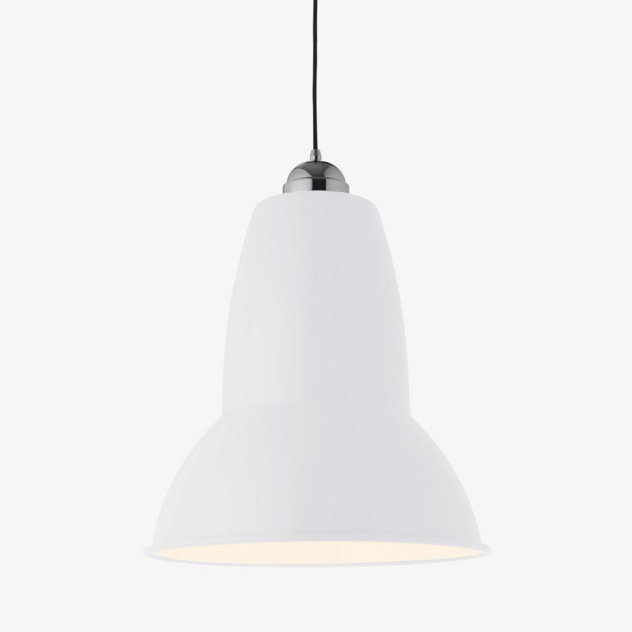 Giant 1227 Classic Pendant Lamp in Alpine White
