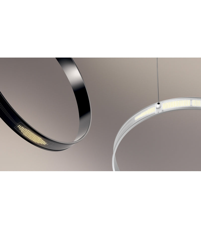 Eclittica 50 Suspension Lamp Black