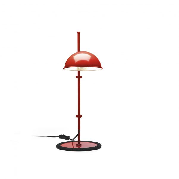 Funiculi S Red Table Lamp