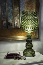 Load image into Gallery viewer, Mini Kabuki Table Lamp  Green