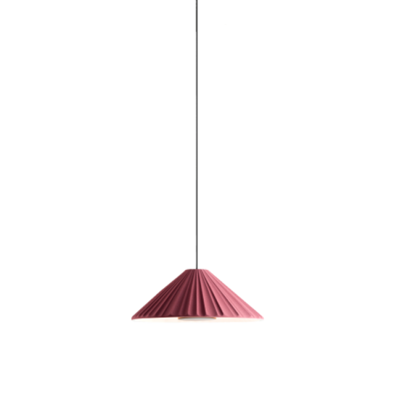 Pu-erh 21 Pendant Light Burgundy-Gold