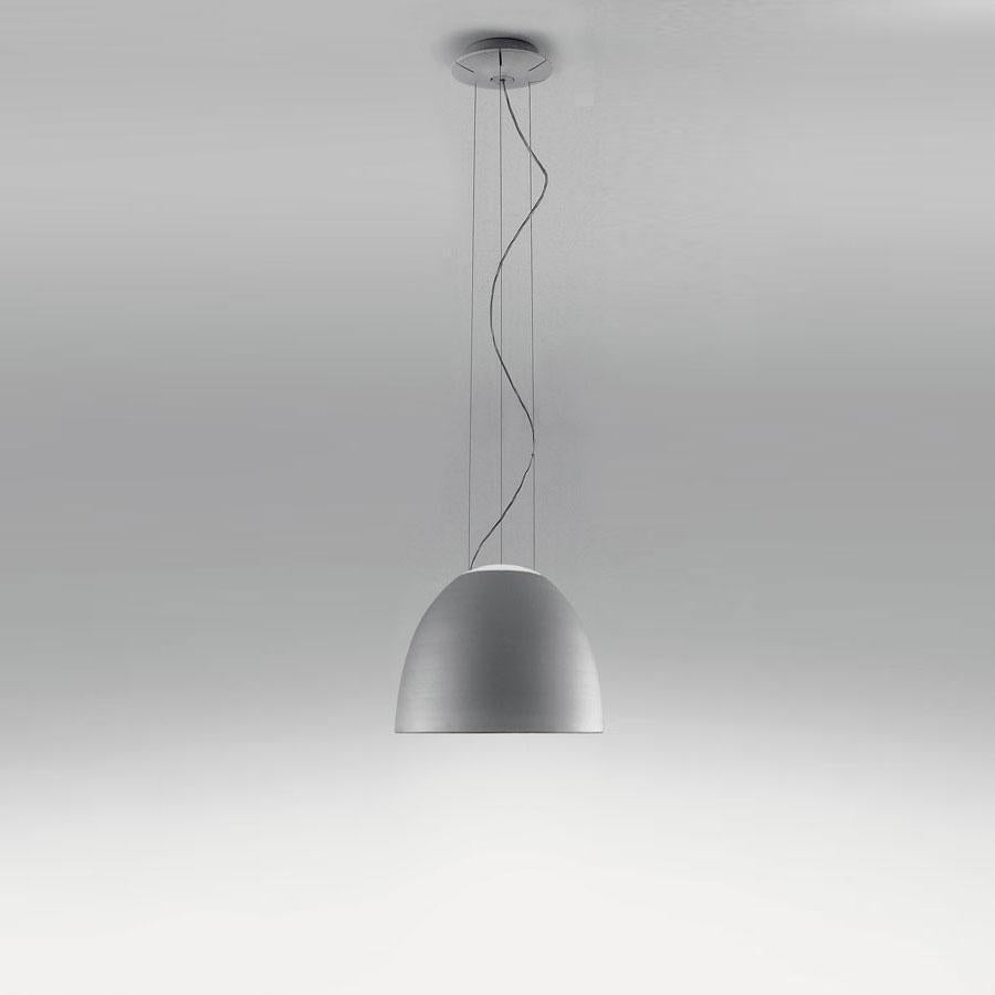 NUR MINI MET. SUSPENSION LAMP ALO 4x100W ANOD.