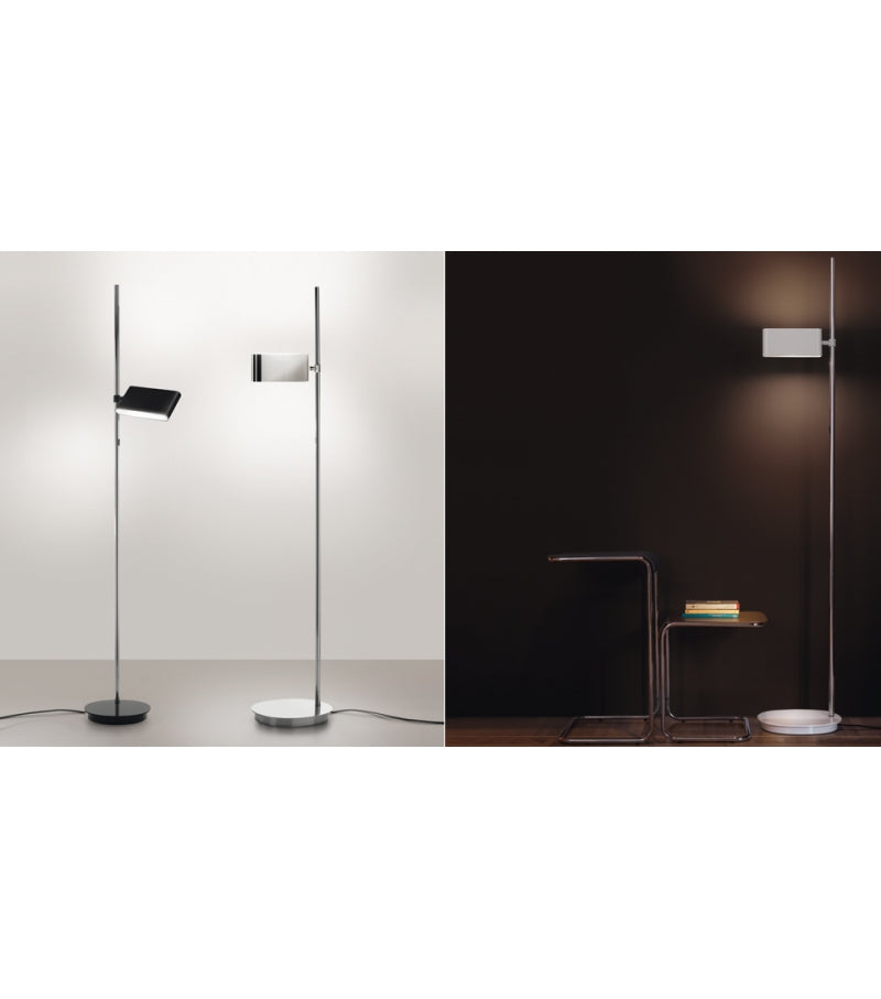 Two Flags Floor Lamp - Aluminium