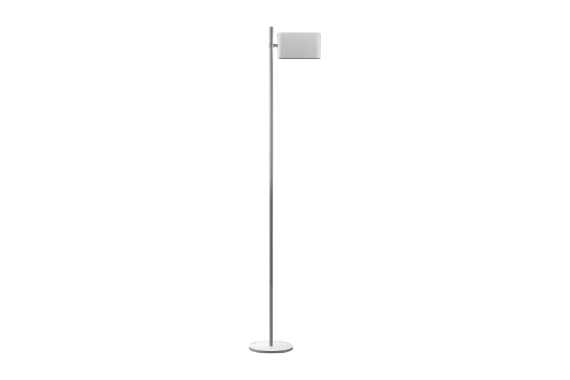 Two Flags Floor Lamp - White