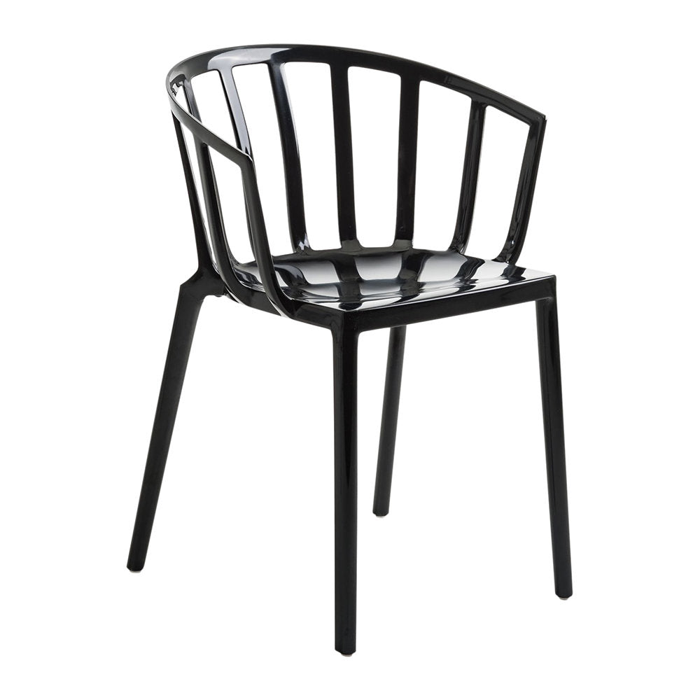 VENICE Chair - Black (Set of 2)