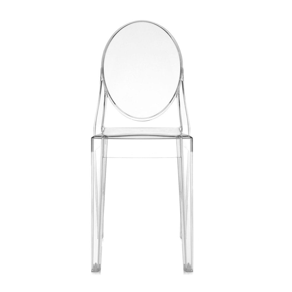 Victoria Ghost Chair - Crystal (Set of 4)