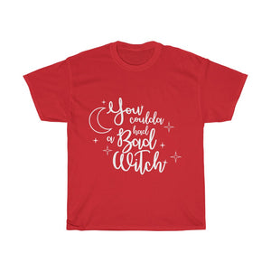Bad Witch T-shirt (White Script)
