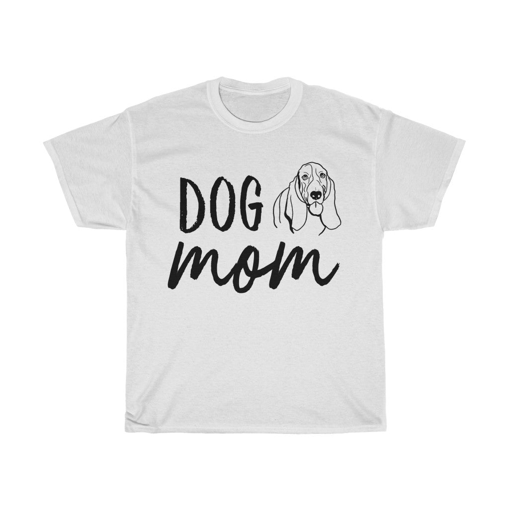 Bassett Hound Dog Mom T-shirt