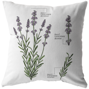 Lavender Pillow Case